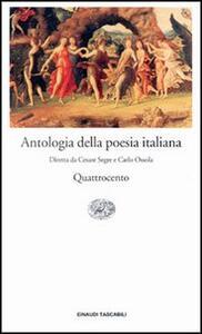 Antologia della poesia italiana. Vol. 3: Il Quattrocento.