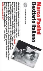 Bestiario italiano. Con videocassetta - Marco Paolini - copertina