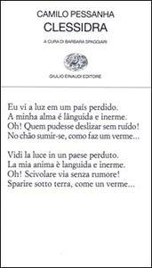 Foto Cover di Clessidra, Libro di Camilo Pessanha, edito da Einaudi