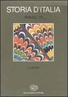 Antondemarirreguera.es Storia d'Italia. Annali. Vol. 19: La moda. Image