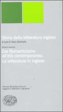 Listadelpopolo.it Storia della letteratura inglese. Vol. 2: Dal Romanticismo all'Età contemporanea. La letteratura inglese. Image