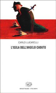 L' isola dell'angelo caduto - Carlo Lucarelli - copertina