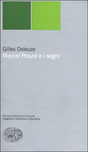 Marcel Proust e i segni - Gilles Deleuze - copertina