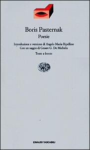 Poesie - Boris Pasternak - copertina