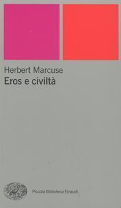 Eros e civiltà - Herbert Marcuse - copertina