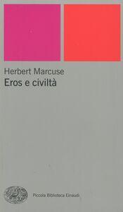 Libro Eros e civiltà Herbert Marcuse