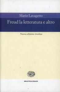 Freud. La letteratura e altro - Mario Lavagetto - copertina