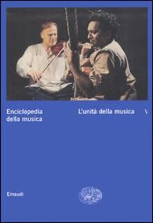 Enciclopedia della musica. Vol. 5: Lunità della musica..pdf