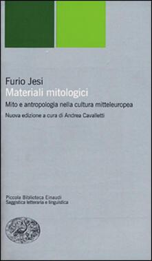 Equilibrifestival.it Materiali mitologici. Mito e antropologia nella cultura mitteleuropea Image