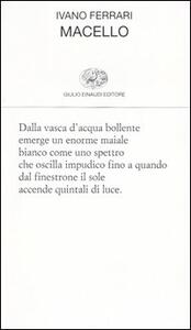 Macello - Ivano Ferrari - copertina