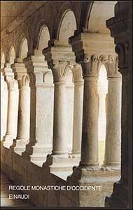 Regole monastiche d'Occidente - copertina