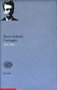 Carteggio 1918-1922