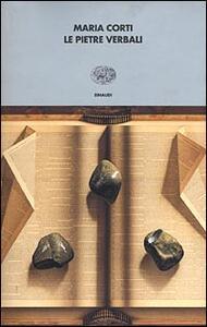 Le pietre verbali - Maria Corti - copertina