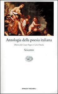 Antologia della poesia italiana. Vol. 5: Seicento. - copertina