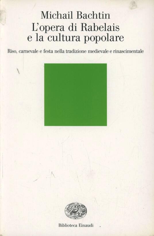 L' opera di Rabelais e la cultura popolare - Michail Bachtin - copertina