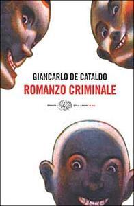 Romanzo criminale - Giancarlo De Cataldo - copertina