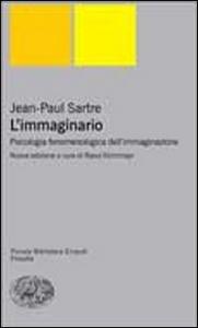 Libro L' immaginario Jean-Paul Sartre