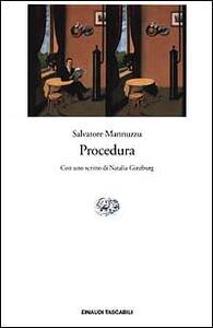 Procedura - Salvatore Mannuzzu - copertina