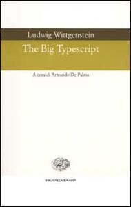 The Big Typescript - Ludwig Wittgenstein - copertina