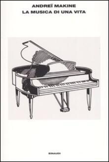 La musica di una vita - Andreï Makine - copertina
