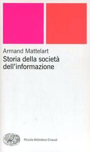 Storia della società dell'informazione - Armand Mattelart - copertina
