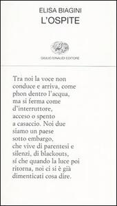 L' ospite - Elisa Biagini - copertina