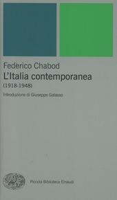 L' Italia contemporanea (1918-1948)