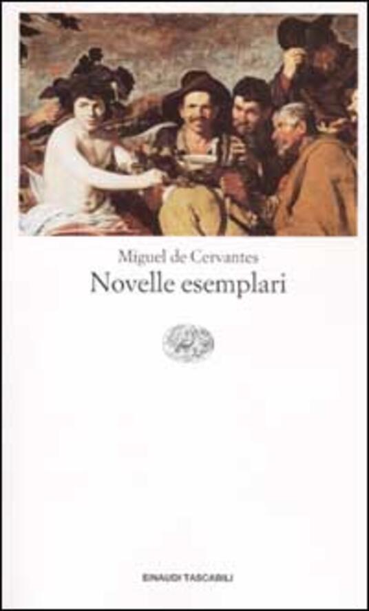 Novelle esemplari - Miguel de Cervantes - copertina