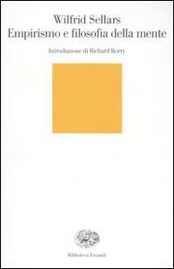 Libro Empirismo e filosofia della mente Wilfrid Sellars
