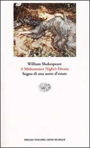 Midsummer night's dream (A)-Sogno di una notte d'estate - William Shakespeare - copertina