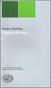 L' impero dei segni - Roland Barthes - copertina