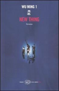 New thing - Wu Ming 1 - copertina