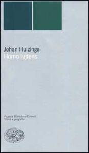 Libro Homo ludens Johan Huizinga