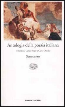 Antologia della poesia italiana: Il Settecento..pdf