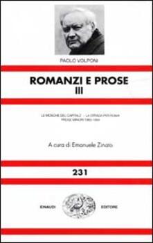 Ilmeglio-delweb.it Romanzi e prose. Vol. 3 Image