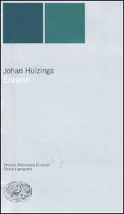 Erasmo - Johan Huizinga - copertina