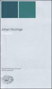 Libro Erasmo Johan Huizinga