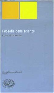 Libro Filosofie delle scienze