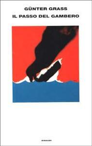 Il passo del gambero - Günter Grass - copertina