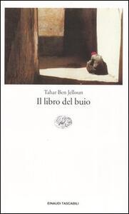 Il libro del buio - Tahar Ben Jelloun - copertina