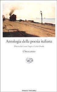 Antologia della poesia italiana. Vol. 7: L'Ottocento. - copertina
