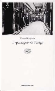 I passages di Parigi - Walter Benjamin - copertina