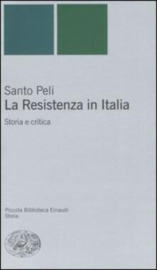Radiospeed.it La Resistenza in Italia. Storia e critica Image