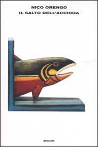 Il salto dell'acciuga - Nico Orengo - copertina