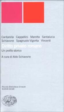 Diritto privato romano. Un profilo storico.pdf