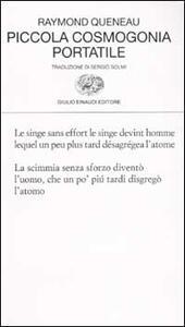 Piccola cosmogonia portatile - Raymond Queneau - copertina