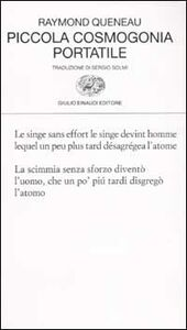 Libro Piccola cosmogonia portatile Raymond Queneau