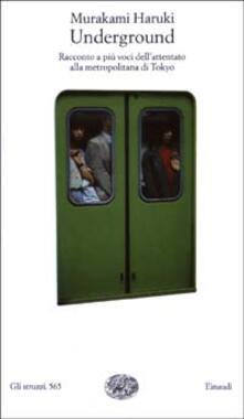Steamcon.it Underground. Racconto a più voci dell'attentato alla metropolitana di Tokyo Image