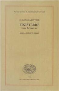 Finisterre (versi del 1940-42) - Eugenio Montale - copertina