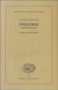 Libro Finisterre (versi del 1940-42) Eugenio Montale